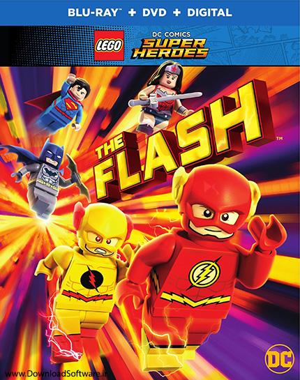دانلود دوبله فارسی انیمیشن Lego DC Comics Super Heroes: The Flash 2018