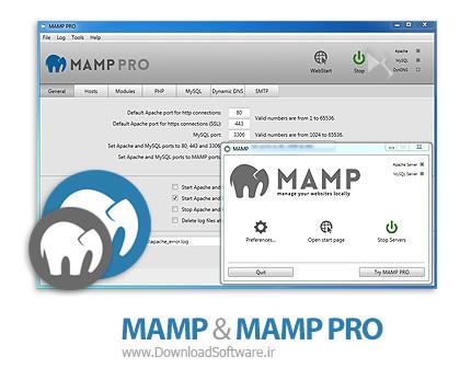 دانلود MAMP & MAMP PRO