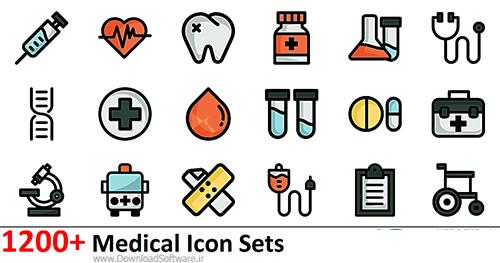 دانلود مجموعه آیکون های پزشکی