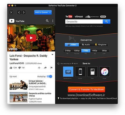 دانلود Softorino YouTube Converter نرم افزار تبدیل یوتیوب به لینک دانلود