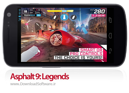 دانلود Asphalt 9: Legends