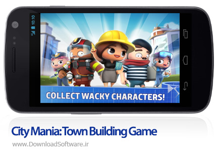 دانلود City Mania: Town Building Game
