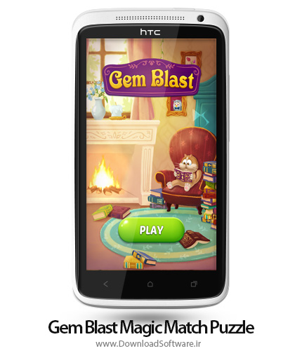 دانلود Gem Blast: Magic Match Puzzle