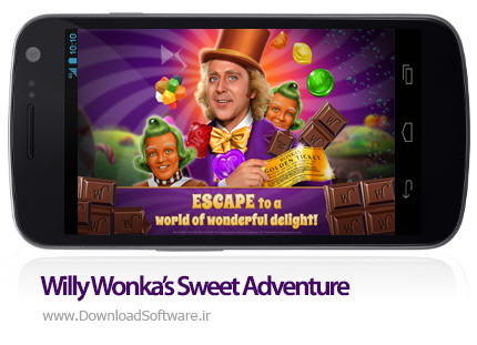 دانلود Willy Wonka's Sweet Adventure