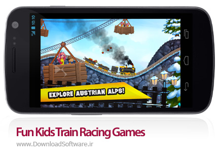 دانلود Fun Kids Train Racing Games