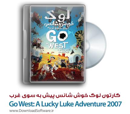 دانلود دوبله فارسی انیمیشن A Lucky Luke Adventure 2007