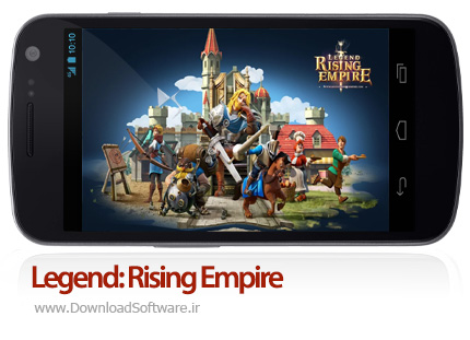 دانلود Legend: Rising Empire