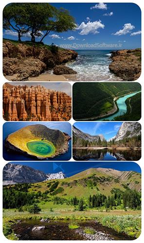 دانلود 57 عکس جذاب از طبیعت
