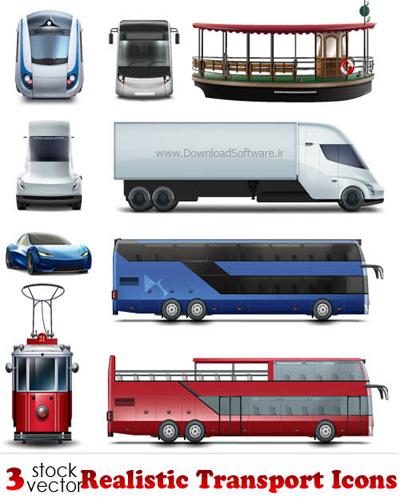 دانلود آیکون های حمل و نقل