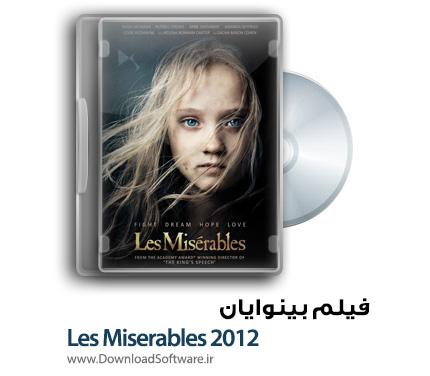 دانلود رایگان فیلم کامل بینوایان با دوبله فارسی Les Miserables 2012 BluRay