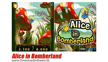 دانلود بازی جدید و بسیار زیبای Alice in Bomberland برای موبایل