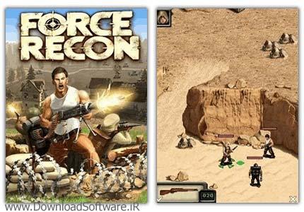 دانلود بازی زیبای Force Recon برای گوشی موبایل با لینک مستقیم