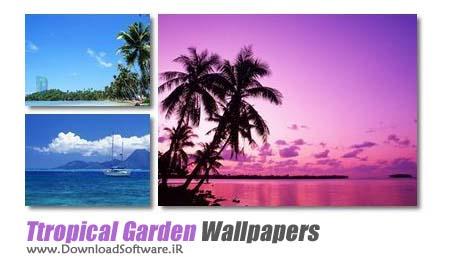 دانلود Tropical Garden wallpapers مجموعه ۴۸ والپیپر کیفیت بالا
