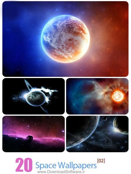 دانلود بک گراند فضا Space Wallpapers 02