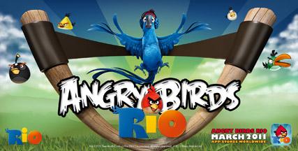دانلود بازي جذاب پرندگان خشمگين در ريو Angry Birds Rio - نوكيا