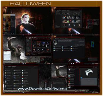 دانلود تم هالووین برای ویندوز ۷ - وب سایت دانلود سافت ور بهترین سایت دانلود
