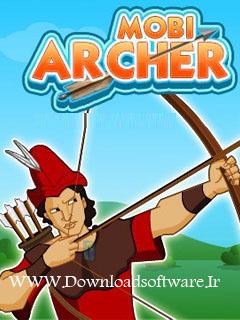 دانلود بازی بسیار زیبای تیر کمان Mobi Archer با فرمت جاوا با لینک مستقیم