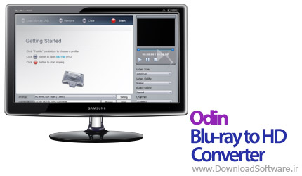 Odin Blu-ray to HD Converter