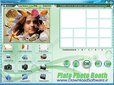 دانلود نرم افزار ویرایش تصاویر دیجیتالی با Plato Photo Booth