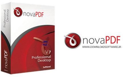 دانلود نرم افزار NovaPDF - ساخت فایل های پی دی اف
