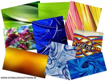 دانلود مجموعه ۵۰ والپیپر هنری بسیار زیبا در رنگ های مختلف با لینک مستقیم