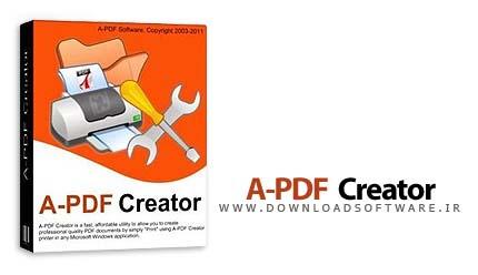 دانلود A-PDF Creator - نرم افزار ایجاد فایل PDF برای ویندوز