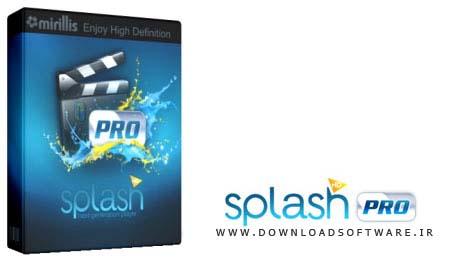 دانلود مبدل و پخش کننده قدرتمند مالتی مدیا به نام Splash PRO EX Player 1.9.0 (قابل حمل)