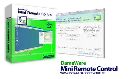 دانلود نرم افزار DameWare Mini Remote Control برنامه کنترل رایانه از راه دور