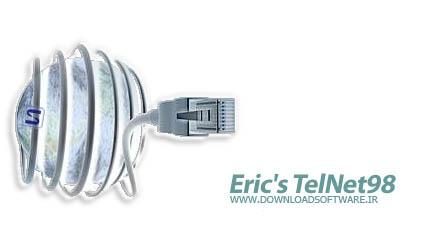 دانلود Erics Telnet 98 - نرم افزار کلاینت Telnet و SSH