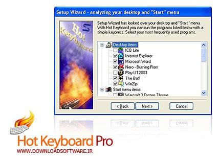 دانلود Hot Keyboard Pro نرم افزار ایجاد کلید میانبر