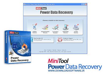 دانلود MiniTool Power Data Recovery + portable - بازیابی اطلاعات