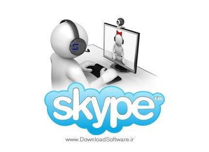 دانلود اسکایپ برای ویندوز Skype + Portable نرم افزار تماس صوتی و تصویری رایگان از طریق اینترنت