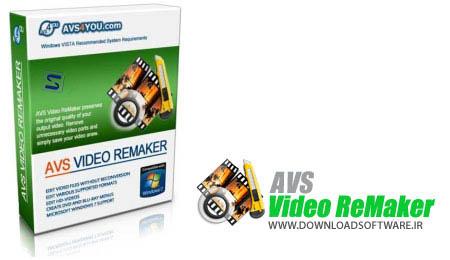 دانلود نرم افزار AVS Video ReMaker - بهترین برنامه ویرایش فیلم