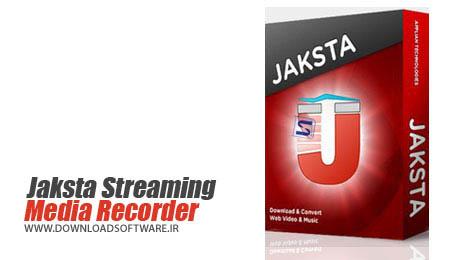 دانلود نرم افزار Jaksta Media Recorder دانلود ویدیو و موسیقی روی صفحات وب