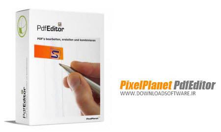 دانلود برنامه ویرایش پی دی اف PixelPlanet PdfEditor Professional نرم افزار ویرایش سریع و آسان PDF