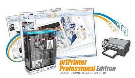 دانلود نرم افزار priPrinter Professional + Server - برنامه پرینتر مجازی سیستم