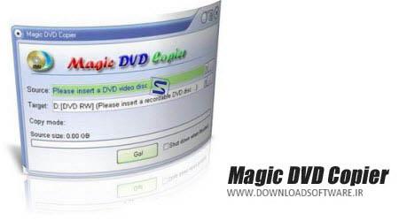 دانلود نرم افزار Magic DVD Copier - برنامه همه کاره برای رایت DVD