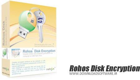 دانلود نرم افزار Rohos Disk Encryption - رمزنگاری هارد دیسک