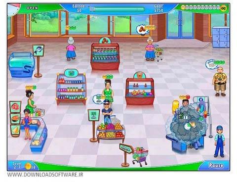 دانلود بازی مدیریت سوپر مارکت Supermarket Management 2 برای PC
