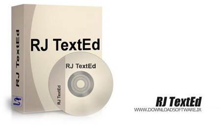 دانلود نرم افزار RJ TextEd - برنامه ویرایش متون و سورس فایل
