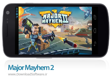 دانلود بازی Major Mayhem 2 برای اندروید
