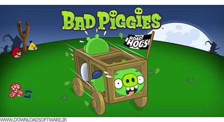 دانلود بازی Bad Piggies + HD برای آندروید