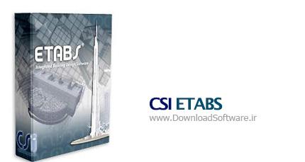 دانلود CSI ETABS - نرم افزار تحلیل و طراحی سازه های ساختمانی