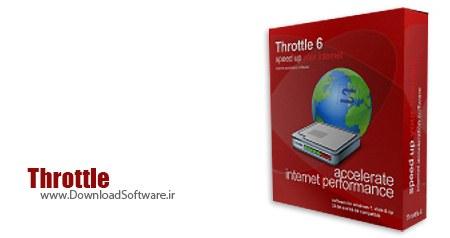 دانلود نرم افزار PGWARE Throttle - افزایش سرعت اینترنت