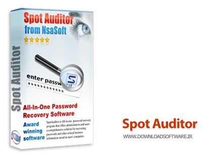 دانلود نرم افزار Nsasoft SpotAuditor - نمایش پسوردهای ذخیره شده