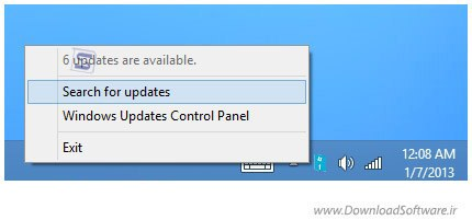 Windows 8 Update Notifier