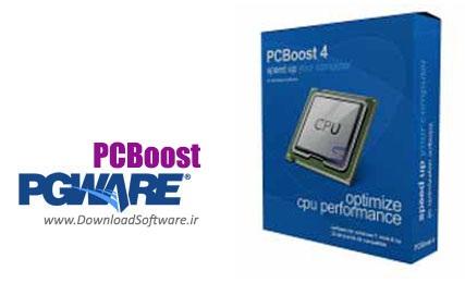 دانلود PGWARE PCBoost - نرم افزار بهینه سازی سرعت رایانه