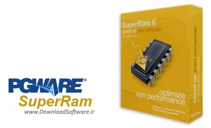 دانلود PGWARE SuperRam - نرم افزار بهینه سازی رم