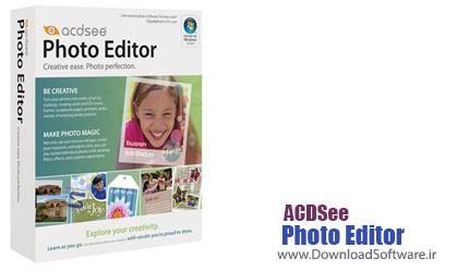 دانلود نرم افزار ACDSee Photo Editor برنامه ویرایش و مدیریت حرفه ای تصاویر