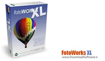 دانلود نرم افزار FotoWorks XL برنامه ویرایش تصویر